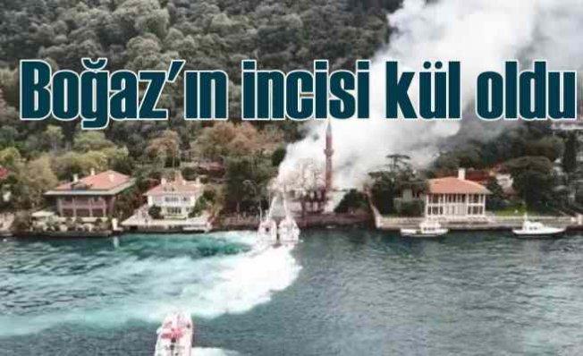 Vaniköy Camii kül oldu | Boğaz'ın incisiydi