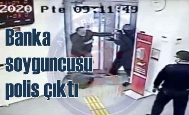 Ankara'da banka soygun girişimi | Bahisçi polis çıktı