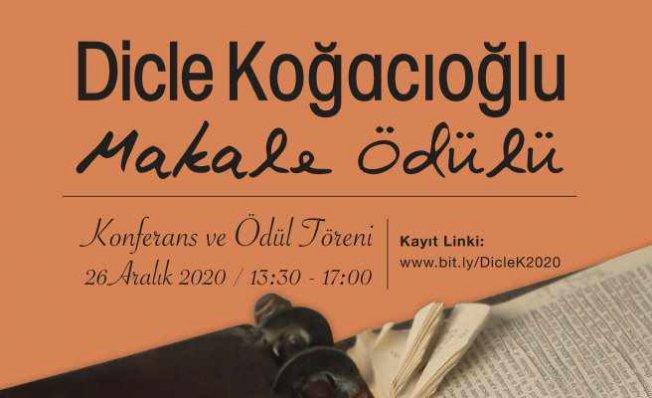 Dicle Koğacıoğlu Makale Ödülleri sahiplerini buldu