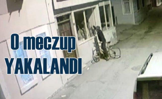 Duvar yazılarıyla Atatürk'e hakaret eden meczup yakalandı