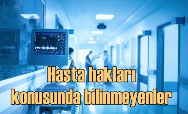 Hasta onayı olmadan tedavi ya da müdahale yapılamaz