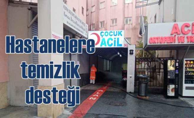 İBB'den 245 hastaneye pandemi temizliği