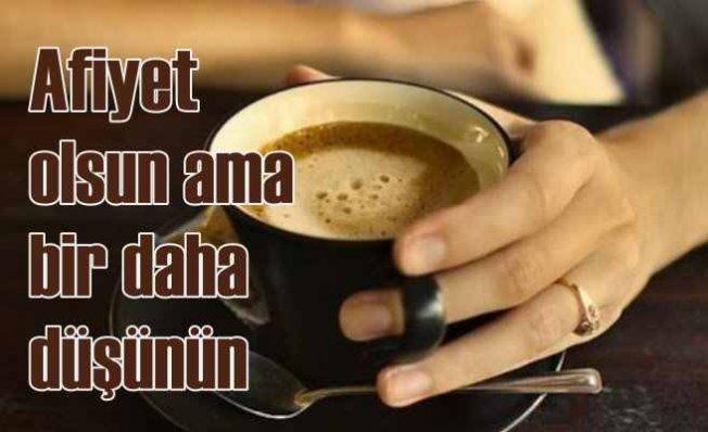 Kahve Tüketiminde Dikkat Edilmesi Gerekenler
