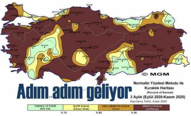 Kuraklık kıtlığa dönmesin   Anadolu toprakları alârm veriyor