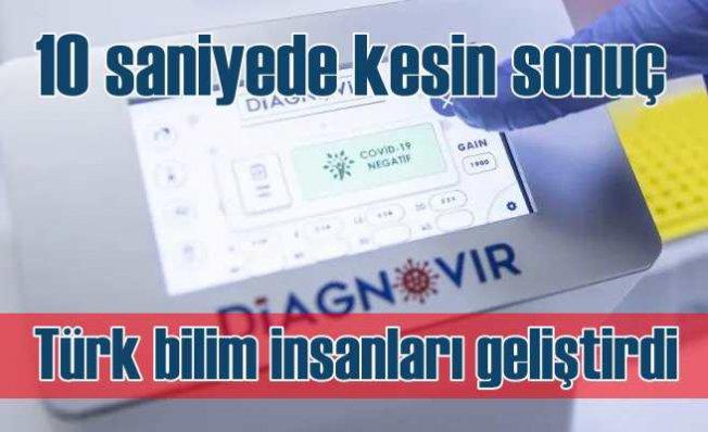 Türk bilim insanları geliştirdi | Koronavirüsü 10 saniyede buluyor