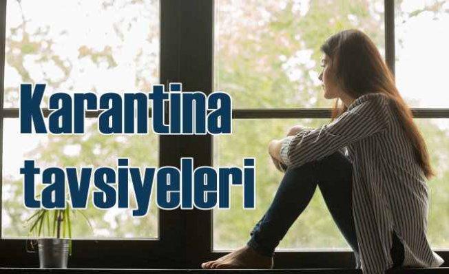 Uzman Diyetisyen ve Psikologdan karantina tavsiyeleri