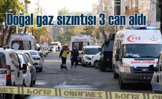 Doğal gaz zehirlenmesi | Diyarbakır'da 3 kişi can verdi