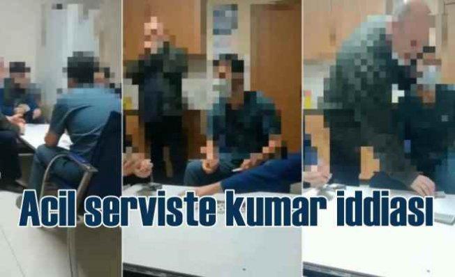 Hastanede kumar iddiası | 5 çalışan açığa alındı