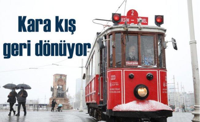 İstanbul için kar yağışı uyarısı geldi