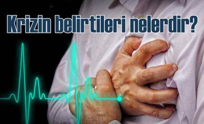 Kalp Krizinin Belirtileri Nelerdir? | Endişe ve üzüntüye dikkat!