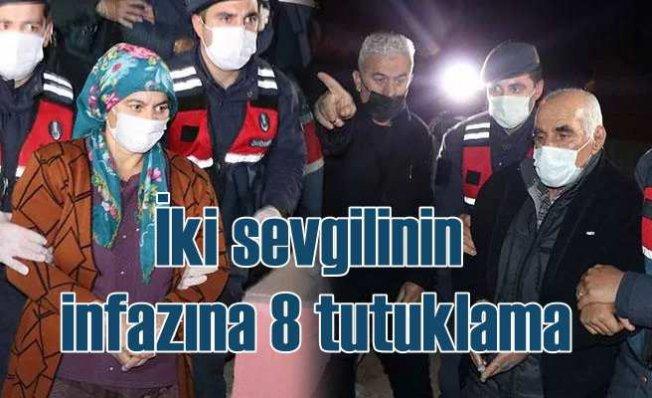 Osman Çelik, Vildan İnce cinayeti | 8 tutuklama