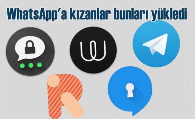 WhatsApp kullanıcıları isyan etti | Rakip uygulamalar rekor kırdı