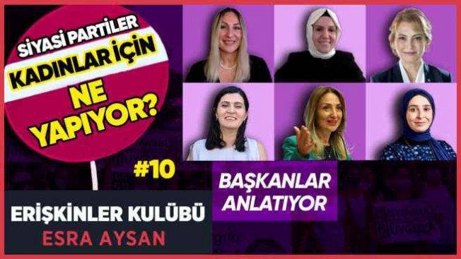 Beş siyasi partiden ortak duruş | İstanbul Sözleşmesi'nden dönmek yok
