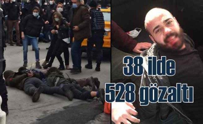 Boğaziçi protestoları | 38 ilde çok sayıda gözaltı var