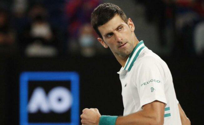 Dünya 1 numarası Novak Djokovic,