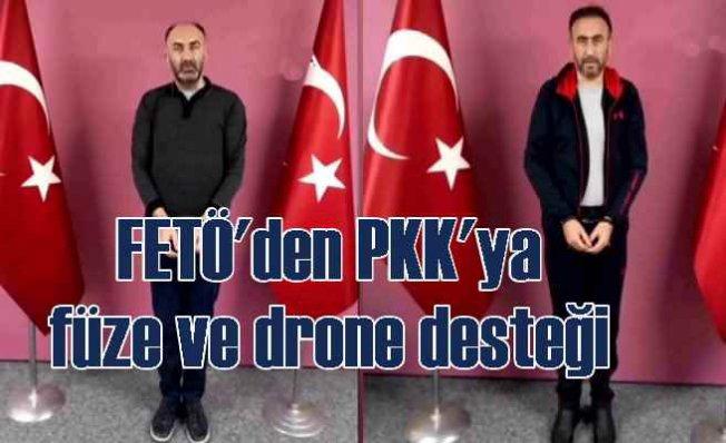 FETÖ'nün, PKK'ya füze desteği | MİT operasyonu ile getirildiler