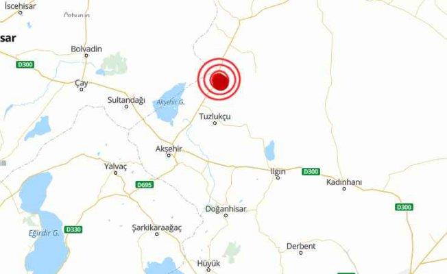 Konya Tuzlukçu'da deprem oldu | Konya'da deprem 4.6