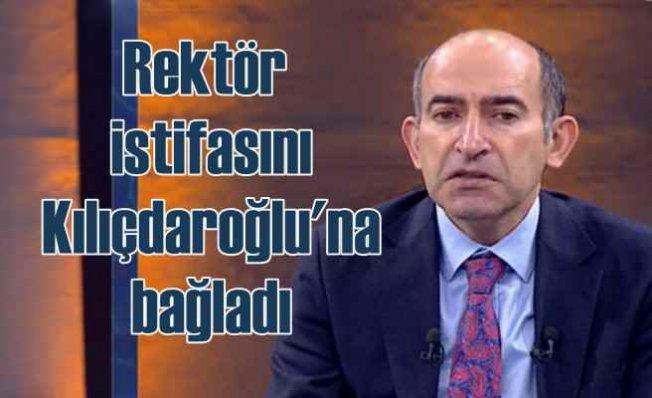 Melih Bulu istifa etmemesini Kılıçdaroğlu'na bağladı
