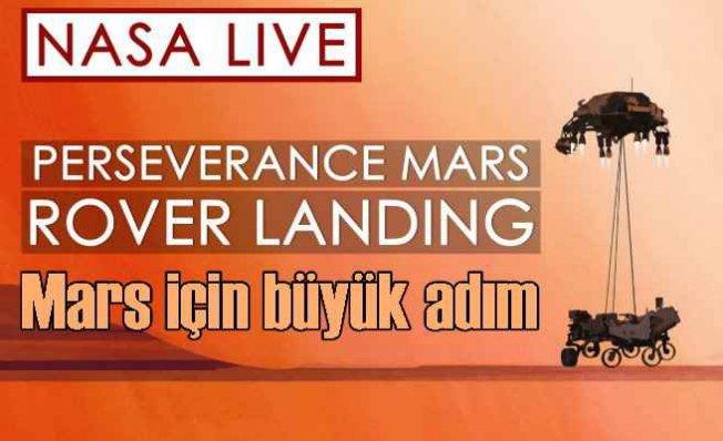 Perseverance Mars'a indi | Mars'tan ilk görüntüler