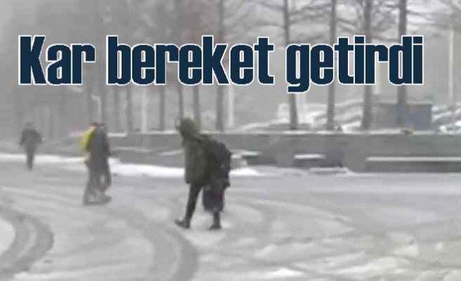 Türkiye beyaza büründü | Kar yurt geneline bereket getirdi