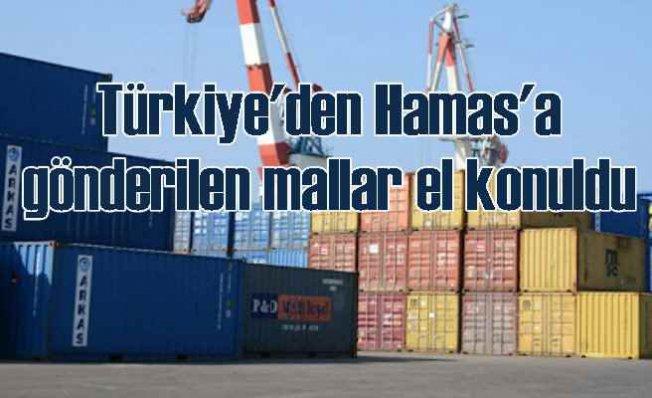 Türkiye'den Batı Şeria'ya gönderilen mallara İsrail'de el konuldu