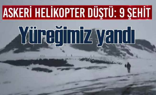 Bitlis'ten yüreklerimizi yakan haber | Cougar faciası 10 şehidimiz var