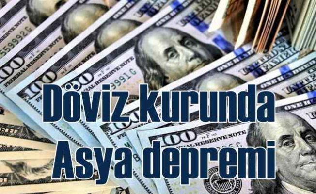 Dolar 8.35'ten döndü   Asya borsası açıldı, dolar fırladı