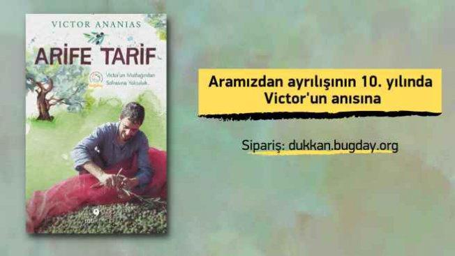 Kitap | Victor Ananias'ınArife Tarifkitabı çıktı