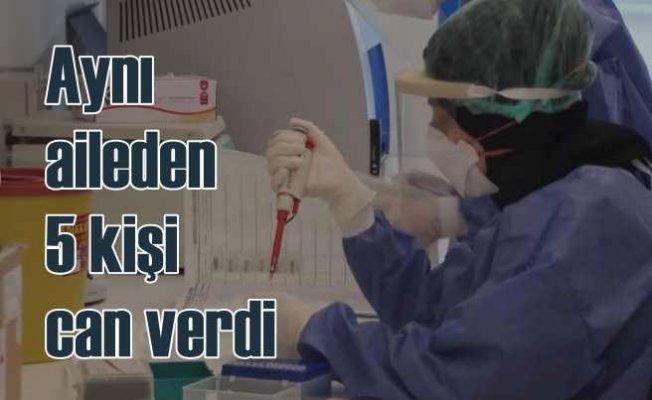 Koronavirüs faciası | Aynı aileden 5 kişi can verdi