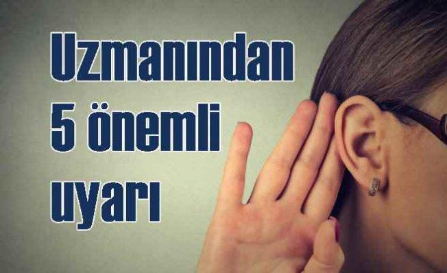 Kulakta en sık görülen 5 hastalık | Kulakta bu şikayetler varsa dikkat