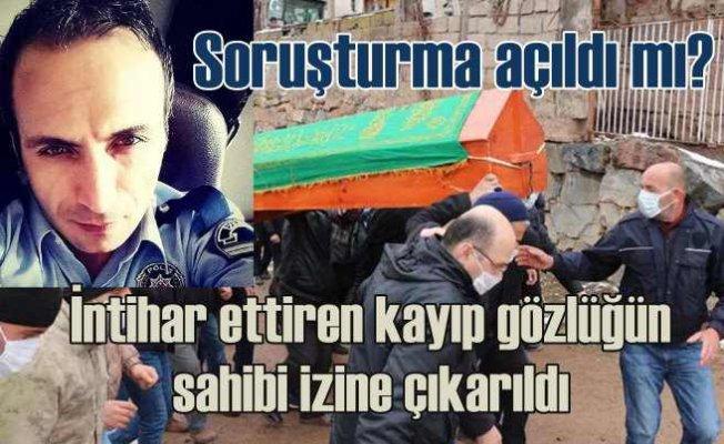 Polis memurunu intihara sürükleyen amir izine gönderildi