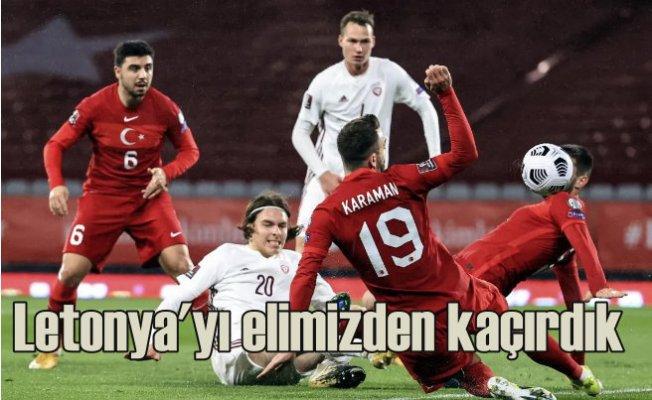 Türk Milli Takımı Letonya'ya takıldı | 3 - 3