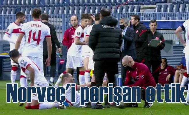 Norveç, Türk Milli Takımının elinden ucuz kurtuldu   3 - 0