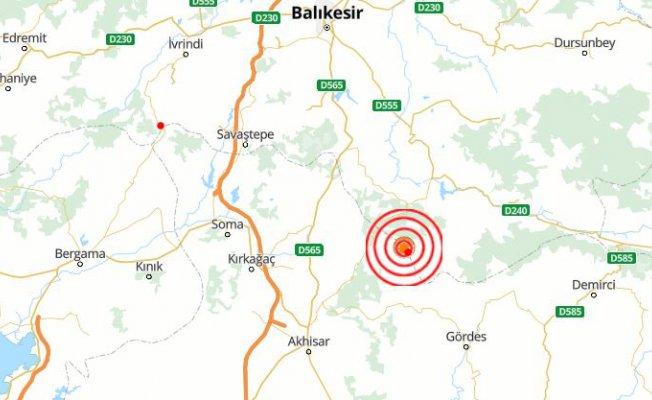 Balıkesir Sındırgı'da deprem | Sındırgı 4.2 ile sallandı