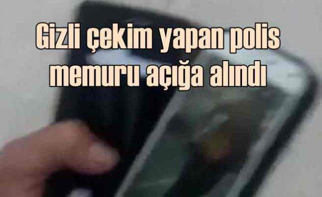 Kadınların fotoğrafını çeken polis memuru açığa alındı