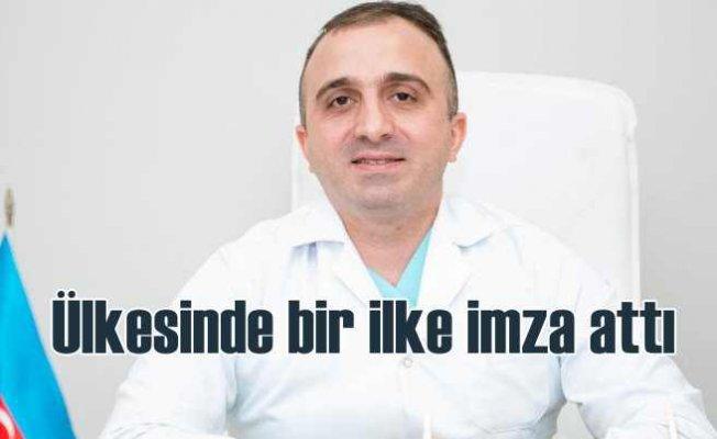 Rashad Sholan, Azerbaycan'da bir ilke imza attı