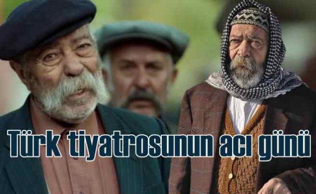 Türk Tiyatrosu'nun acı günü   Erol Demiröz hayatını kaybetti