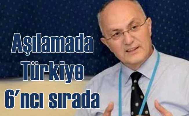 Türkiye Aşı Uygulamasında Dünyada 6'ıncı Sırada