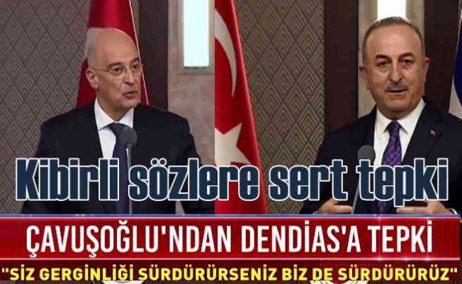 Yunan Bakan Ankara'da kriz çıkardı, Çavuşoğlu'ndan sert cevap