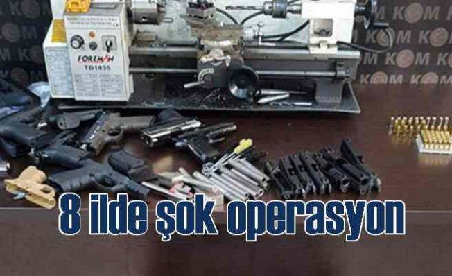 8 ilde Operasyon   Çok sayıda gözaltı var