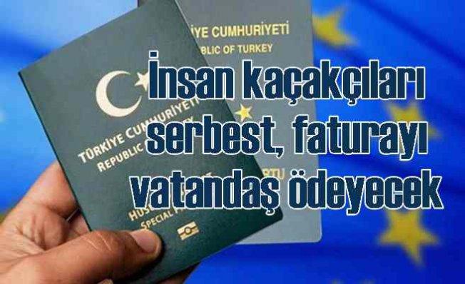 Almanya vize için Gri ve Yeşil Pasaport için ek belge isteyecek