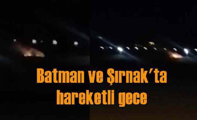 Batman ve Şırnak'ta maket uçaklı saldırı girişimi