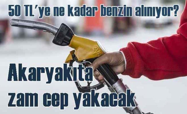 Benzin fiyatlarına zam | ÖTV cebimizi yakacak