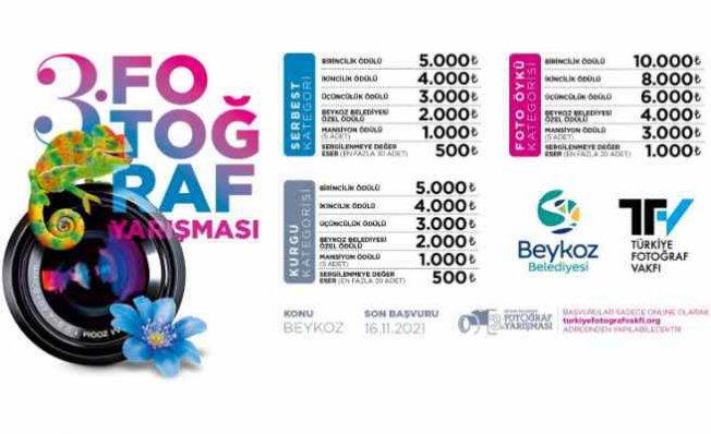 Beykoz Belediyesi 3. Fotoğraf Yarışması başlıyor