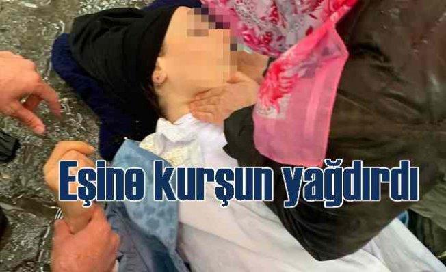 Beyoğlu'nda kadına eski eşinden silahlı saldırı