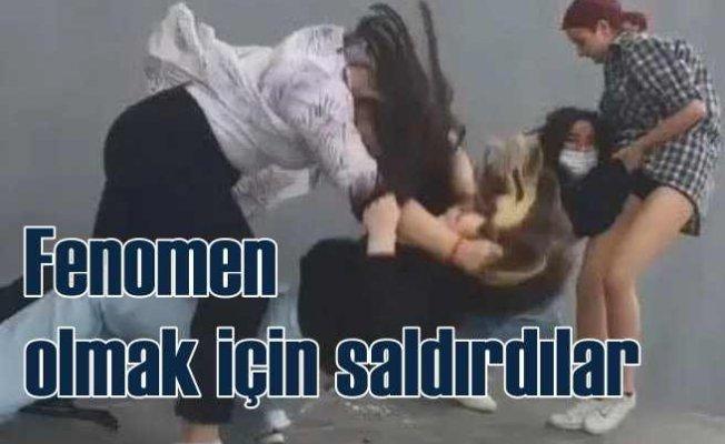 Fenomen olmak için kız çocuklarına saldırdılar