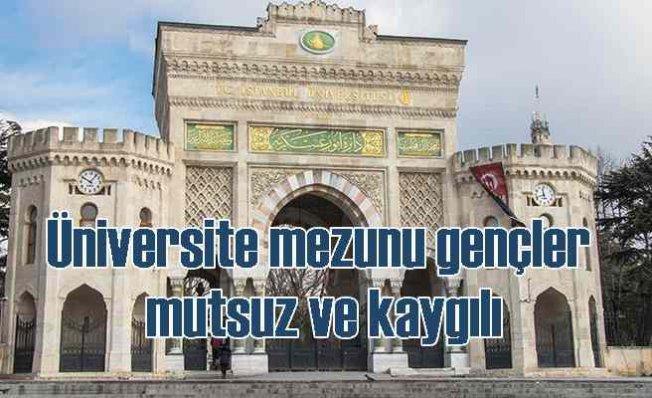 İBB araştırdı | İstanbul'daki üniversite mezunları mutsuz ve kaygılı