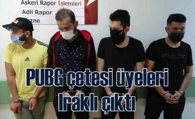 Samsun'da PUBG operasyonu | 4 Iraklı gözaltında