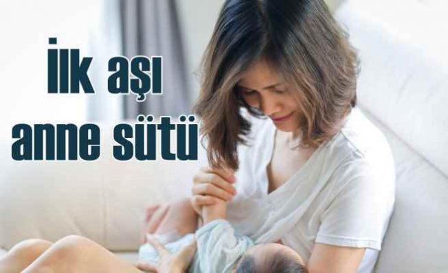 Bebeğin ilk aşısı | Anne sütü