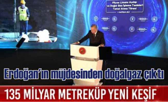 Erdoğan'ın müjdesinden doğalgaz çıktı